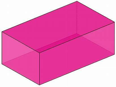 Cuboid Shape Clipart Box Shapes Rectangular Cube