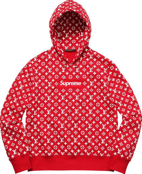 lv supreme x sweatshirt on storenvy