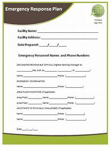 emergency response plans for businesses buy it now get With emergency response plan template for small business