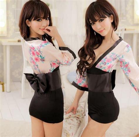 Japanese Kimono Women S Sexy Lingerie Charm Chemises