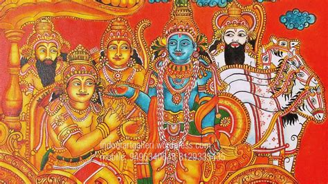 mural artists kerala mural painting quot geethopadesham quot beautiful mural
