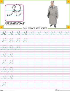 cursive capital handwriting worksheets images
