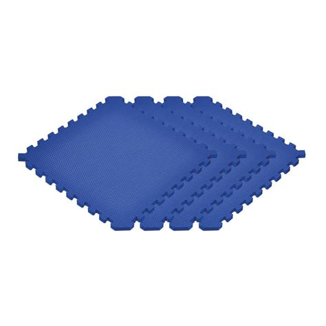 norsk reversible floor mats norsk blue 24 in x 24 in x 0 79 in foam interlocking