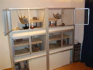 DIY Hedgehog Cage