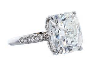 single engagement rings single cushion cut engagement rings cushion cut carat cushion cut