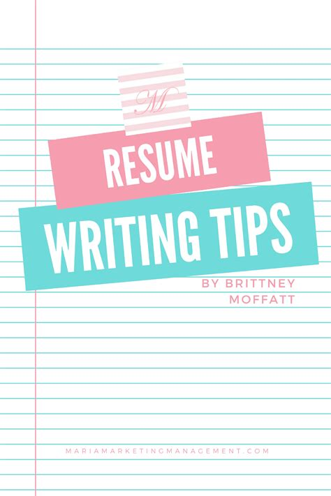 Resume Writing Tips by Resume Writing Tips According To
