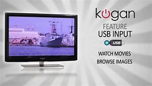 Kogan LED & LCD TV Feature Video - USB Input - YouTube