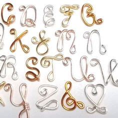 wire letters diy projects   wire letters wire jig wire jewelry