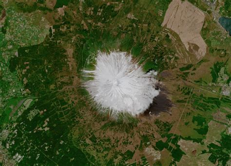 Earth From Space Mount Fuji Japan Spaceref