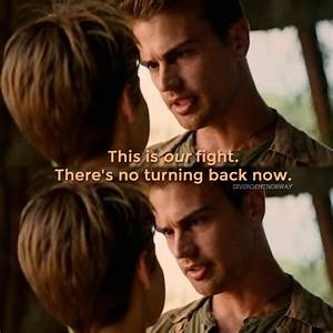 Tris and Four - Insurgent: The Movie Photo (38187284) - Fanpop