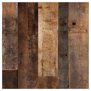 barn wood look wall panel 48quot x 96quot brown rona With barn wood look wall panel