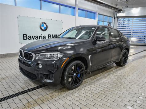New Bmw X6 M by New 2018 Bmw X6 M Suv In Edmonton 18x62671 Bavaria Bmw