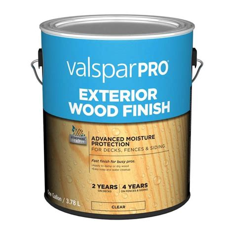 valspar pre tinted clear exterior stain actual net