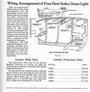 Model T Ford Forum  1926 Fordor Wiring For Interior Dome Light