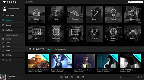 Tidal Is Here, And It Looks A Lot Like Spotify