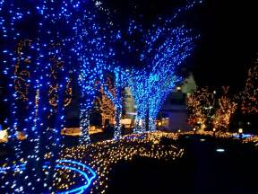 180 blue multi function led outdoor lights