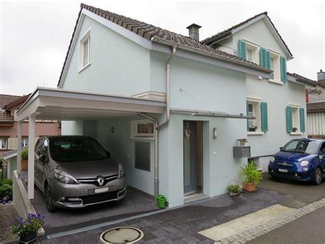 Wohnhaus Anbau Mit Carport  Schneider Holzbau Ag