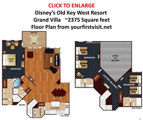 Overview Of Accomodations At Disneys Old Key West Resort