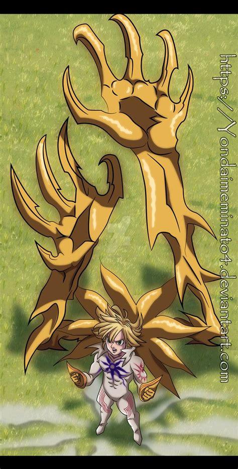 meliodas demon form nanatsu  taizai