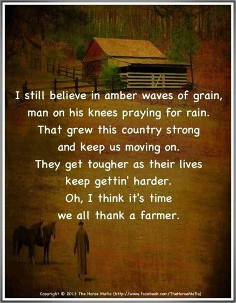 Thank A Farmer Quotes
