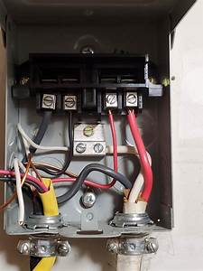 Ac Disconnect Box Wiring