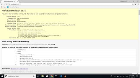 django reverse template python django urls exceptions noreversematch reverse