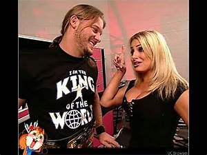 Trish Stratus Teases Chris Jericho Before Their Match ...
