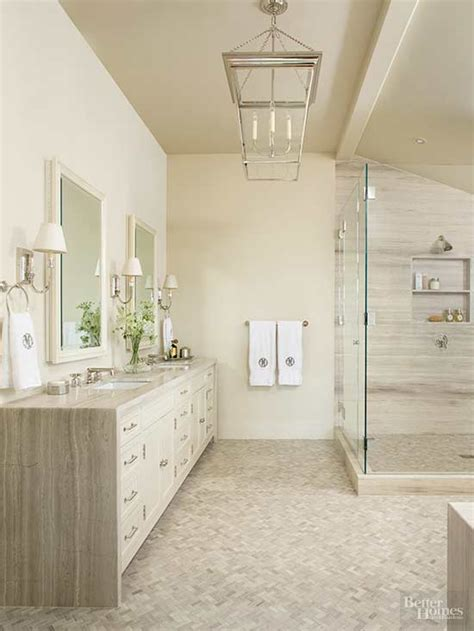 Neutral Colored Bathrooms by Beige Bathroom Ideas Better Homes Gardens