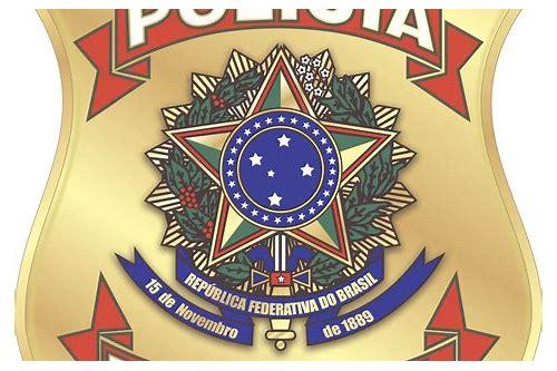 baixar imagem do logotipo da polícia federal