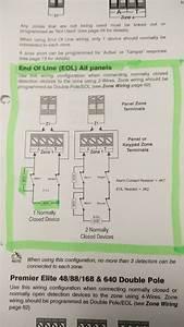 Texecom Premier 24 Eol Wiring To Premier Impaq Plus
