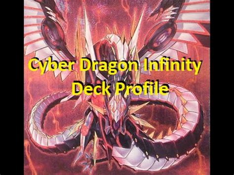 yugioh best cyber dragon infinity deck profile end of