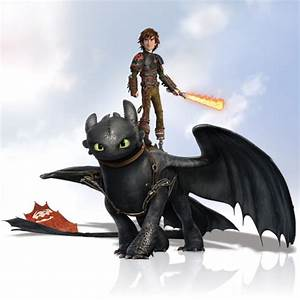 Hiccup and Toothless from HTTYD 2 - How to Train Your ...