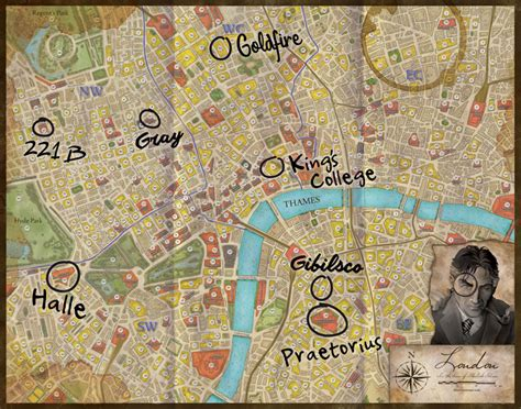 holmes sherlock detective consulting map mystery goldfire dr asmodee previews detectives polar bear december