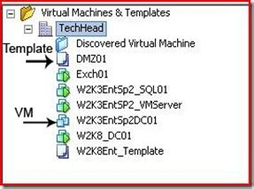 vmware template how to a add or import a template into vmware center v2 5