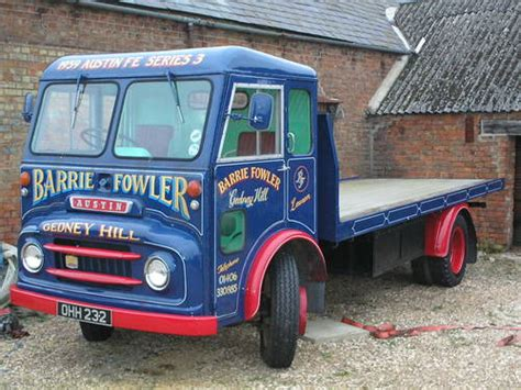 1959 Austin Flat Bed Lorry- Last One Known Of Its Type