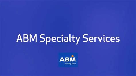 ABM Specialty Services - YouTube
