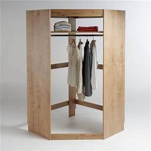 Dressing Bois Massif : module dressing d 39 angle build en 2019 chambre dressing modulable armoire dressing et dressing ~ Louise-bijoux.com Idées de Décoration