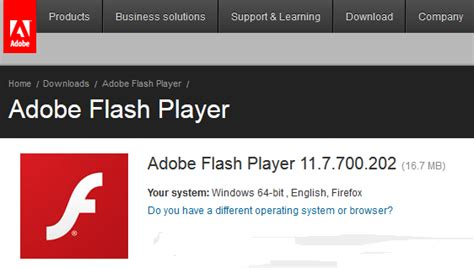 Adobe flash player 11 for other browsers beta 2 (64-bit.