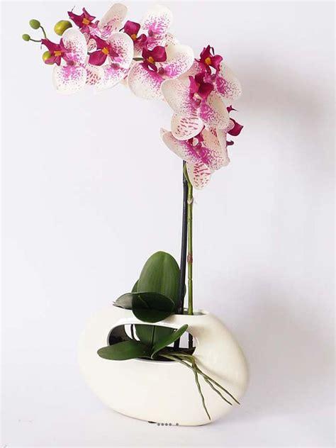 support smartphone bureau orchidee artificielle pas cher