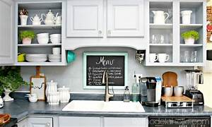 8 diy backsplash ideas to refresh your kitchen on a budget With kitchen cabinets lowes with how to make die cut stickers