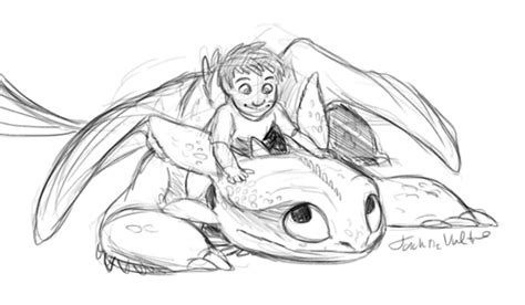 Toddler Hiccup And Toothless Shared By @naebabe16