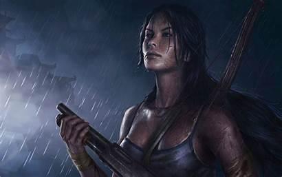 Croft Lara Raider Tomb Games Characters Fan