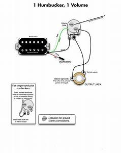 Wiring One Humbucker Pickup In 2020