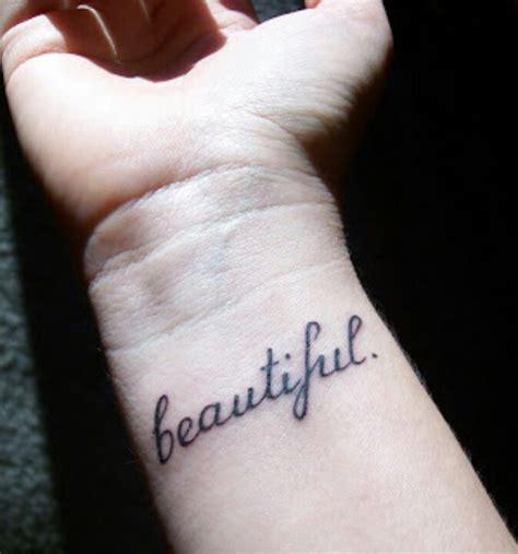 Beautiful Wrist Tattoo On Hand  Tattoo Ideas Pictures