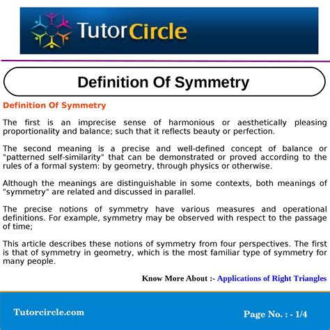 definition of symmetry by circle team issuu