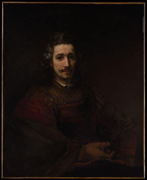 rembrandt rembrandt van rijn man   magnifying