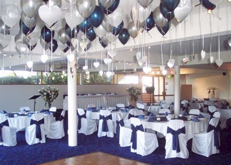 blue and silver decor 25 elegant blue and silver wedding decorations ideas for
