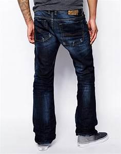 Diesel Jeans Zatiny 831Q Bootcut Fit Dark Wash in Blue for ...