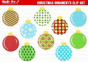 instant download printable christmas ornaments clip art With christmas tree decorations printable