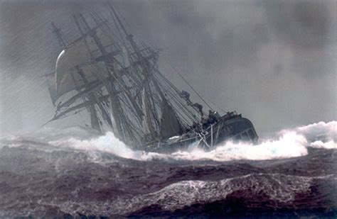 Hms Bounty Sinking Report by Mcn Master Amp Commander Photo The Ship In Storm